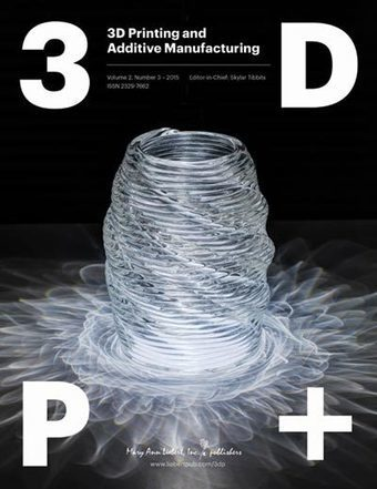 Volume 2, Issue 3 | 3D Printing and Additive Manufacturing | Table of Contents | Architecture, design & algorithms | Scoop.it