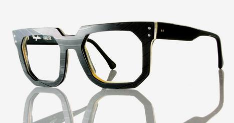 vinylize produces eyewear from unwanted vinyl records - designboom | architecture & design magazine | Plastics in Art | Scoop.it