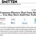 """An Analysis of Glamour.com's """"10 Common Phrases That Turn Him On"""" – Holytaco   Content Ideas for the Breakfaststack   Scoop.it"""