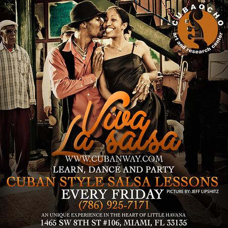 Cuban Way the art of Salsa Dancing - Viva la Salsa | salsa music and dance | Scoop.it