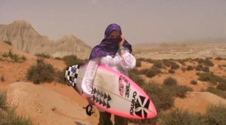 Easkey Britton, la surfeuse voilée pour le droit des femmes en Iran | Isabelle Steyer Avocate | Scoop.it