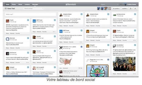ALTERNION : consulter tous ses réseaux sociaux sur une même page | actions de concertation citoyenne | Scoop.it