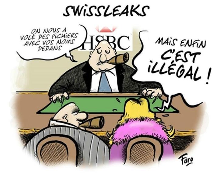 Swissleaks | Baie d'humour | Scoop.it