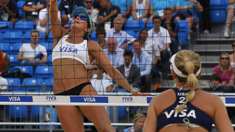 Female Olympic beach volleyball players can now cover up | London Olympics 2012 Pictures and Info | Scoop.it