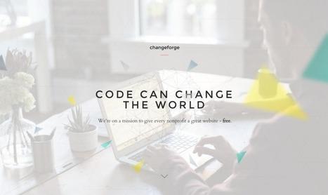 Changeforge Offers Free Websites to Nonprofits   Peer2Politics   Scoop.it