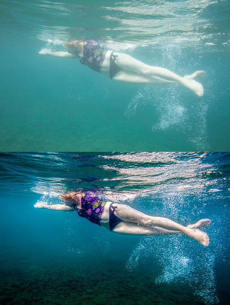 How To Edit Underwater Photography - DIY Photography | SCUBA | Scoop.it