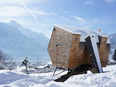 Ufogel Holiday House Floats Above the Meadows in Lienz, Austria   Tirol   Scoop.it