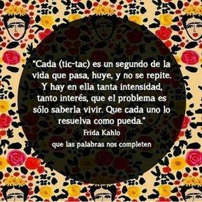 Tweet from @CitasFridaKahlo   TIC   Scoop.it
