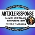 Close Reading Questions: Nonfiction Articles Common Core Aligned | Common Core Resources for ELA Teachers | Scoop.it