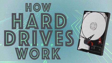 How Hard Drives Work #SaturdayMorningCartoons | Heron | Scoop.it
