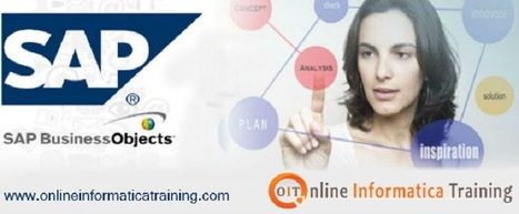 Online SAP Business Objects Training | Build your bright career with online training by online informatica training institute | Scoop.it