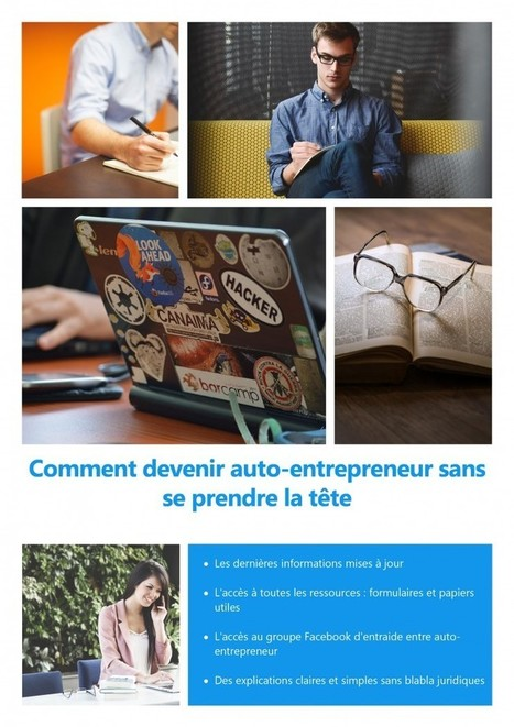 Comment devenir auto-entrepreneur sans se prendre la tête | Make My Trip Voyage | Scoop.it