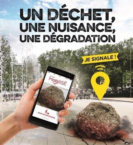 Ces appli qui clean l'espace public | Innovations urbaines | Scoop.it