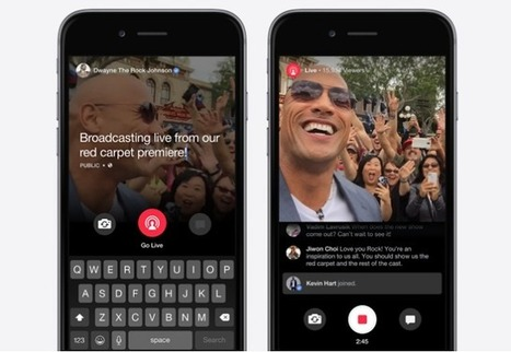 Quand Facebook se lance dans la vidéo en direct, Meerkat et Periscope s'inquiètent - #Arobasenet.com | Going social | Scoop.it