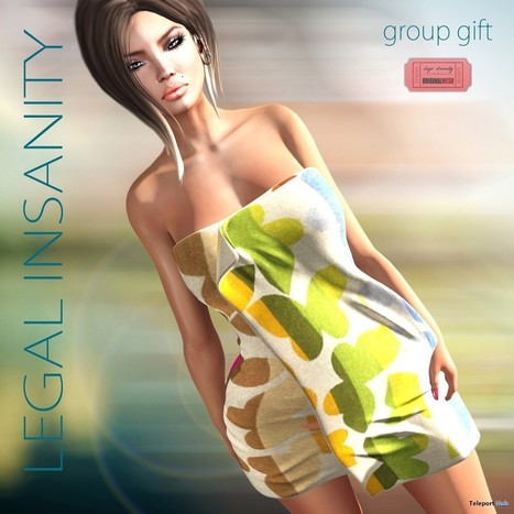 Towel for Her July 2015 Group Gift by Legal Insanity | Teleport Hub - Second Life Freebies | Second Life Freebies | Scoop.it