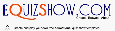 eQuizShow Online Templates | Elementary Education | Scoop.it