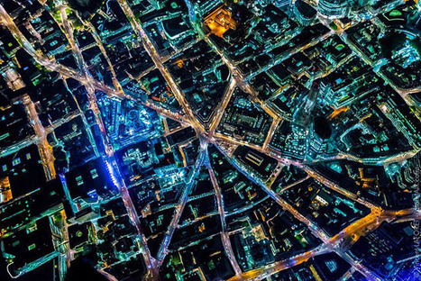 Aerial Photographs of London Glowing at Night | Photography Now | Scoop.it