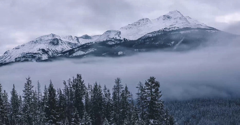 Canadian Rockies Disappear in This Beautifully Foggy Time-Lapse [VIDEO] | Everything from Social Media to F1 to Photography to Anything Interesting. | Scoop.it