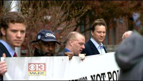 Group Of Catholics Protests Political Views Of CatholicChurch - CBS Baltimore | Aspect 2:  Separation of Church and State | Scoop.it