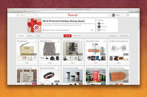 Pinterest Launches Its Holiday Gift Guide - Ubergizmo | Diary of a social media manager | Scoop.it