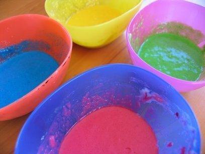 How to make puffy paint from One Crafty Mumma   Skip To My Lou   Plastika teknikak   Scoop.it
