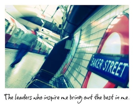 Leadership Inspires Us To Become Greater - #bealeader | Leading for High Performance | Scoop.it