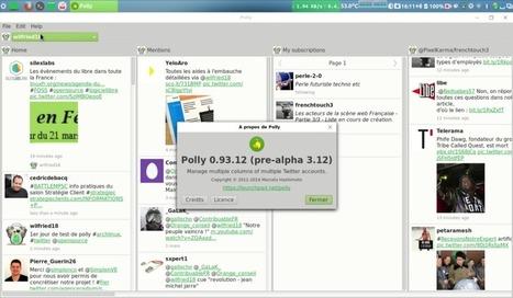 Présentation de Polly, le client Twitter opensource – Le blog de Wilfried Caruel | Freewares | Scoop.it