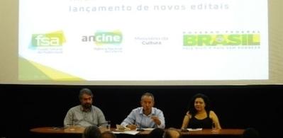 Ancine anuncia investimentos de R$ 27 milhões em novos projetos para cinema e TV | Investimentos em Cultura | Scoop.it