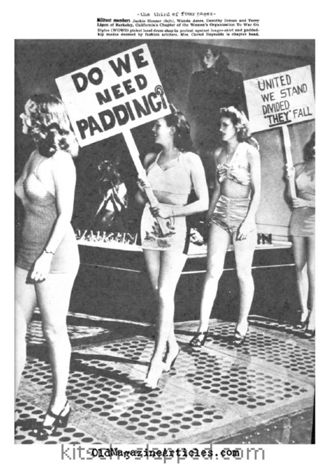 Is Wearing Vintage Fashions Feminist? (Or, Sign Of The Times 1948) | Sex History | Scoop.it