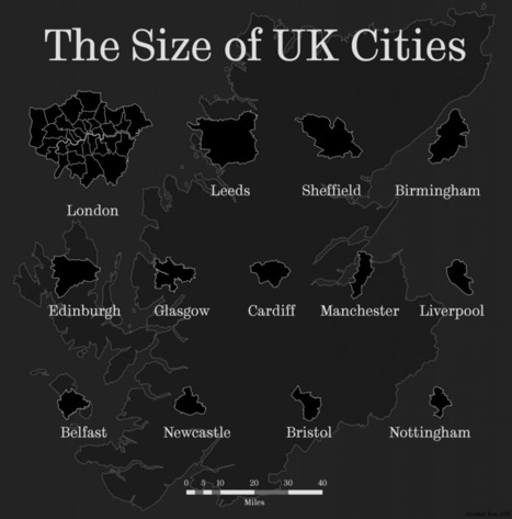 The Power of Comparison: Just How Big Is It? | Spatial Analysis | Geoprocessing | Scoop.it
