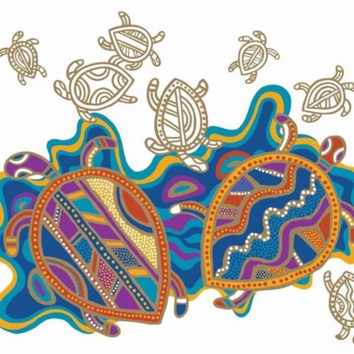 Indigenous colouring book uniting cultures   ABC (Australie)   Océanie   Scoop.it