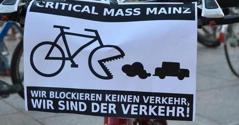 ʺCritical Massʺ nervt viele Autofahrer: Fahrrad-Protest kann Autofahrer provozieren - Motorrad | O come all ye cyclists | Scoop.it