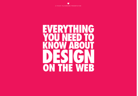 Bold, Beautiful, Brash Website Designs | Design Revolution | Scoop.it