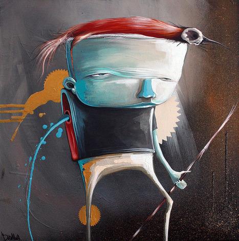 Philip Bosmans (aka Amatic) | Painter | Illustrator | les Artistes du Web | Scoop.it