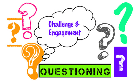 Questioning; Challenge & Engagement | Learning space for teachers | Scoop.it