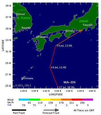 [Eng] Un Typhon en route pour Fukushima? | The Disaffected Lib | Japon : séisme, tsunami & conséquences | Scoop.it