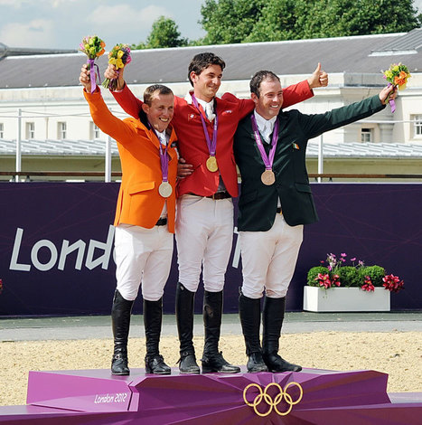 Swiss rider Steve Guerdat wins the Olympic individual show jumping gold medal | Equestrian Olympics 2012 | Scoop.it