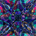 "Saatchi Online Artist: Pixie Copley; Fractal,  Digital ""Blue Stained Glass Fractal Art"" | Cyber Arts | Scoop.it"