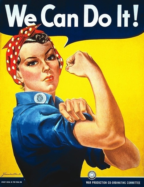 Remember the 'Rosie the Riveter' image pretty much everybody knows? It's not what you might think. | Gazing | Scoop.it