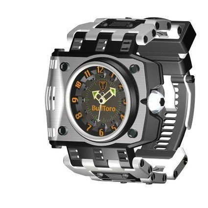 BullToro casual 3 Hand Stainless Bracelet | Shop Watch Bands | Scoop.it