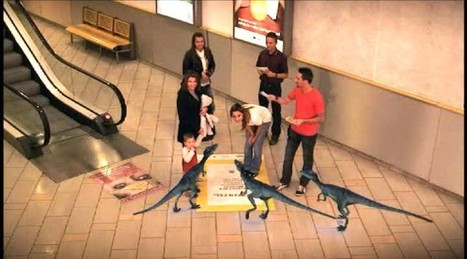 Dinosaurs Raid Shopping Mall -  AR Tech, Gadget & Geeky News -TechMASH | Psychology of Consumer Behaviour | Scoop.it