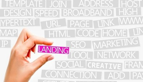 Invest in a Landing page -- the way to Landing a big client | Xavier Creative House | Scoop.it