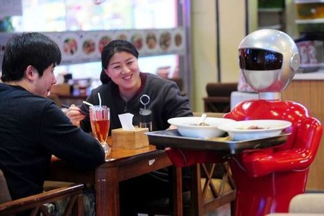 Would you eat in a restaurant with a robot waiter? | Xposed | Scoop.it