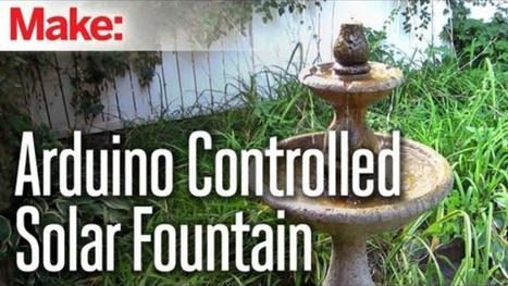 Challenge Winner: Build an Arduino-Controlled Solar Fountain | Raspberry Pi | Scoop.it