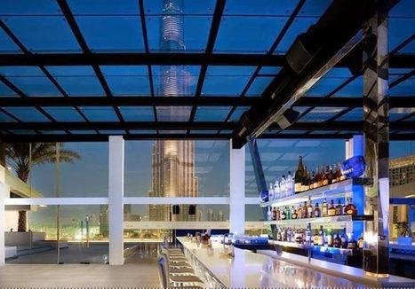 Dubai Restaurants menu Guide, Dubai restaurants, Dubai top Restaurants, Best Dubai restaurants: Above Rooftop Lounge at the Sofitel Dubai Downtown | Limousines | Scoop.it