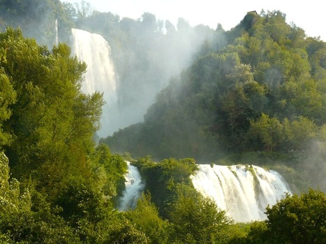 Umbria's Cascata delle Marmore: Majestic Italian waterfalls | Italia Mia | Scoop.it