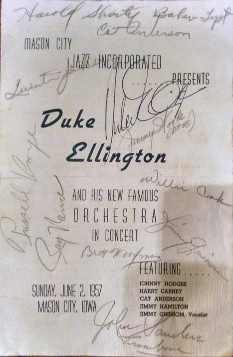 Mason City, Iowa - Duke Ellington | Jazz Plus | Scoop.it