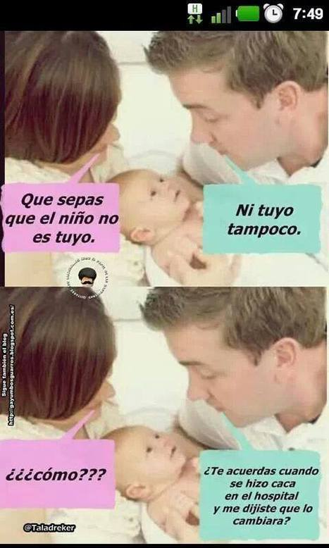 De quien es el niño! | Humor sin recortes | Scoop.it