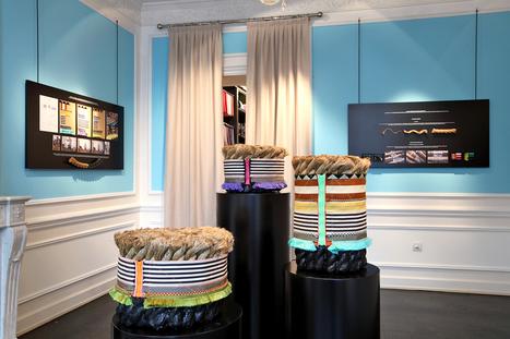 Dedar Roping by Stephen Burks   Décoration d'intérieur, tissus et papiers peints de luxe   Scoop.it