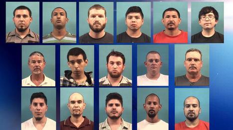 Caen 16, acusados de buscar sexo con menores — Telemundo Houston   #limpialared   Scoop.it